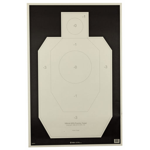 Action Tgt Idpa Paper 100Pk-Tactical Supply-Action Target-EpicWorldStore.com