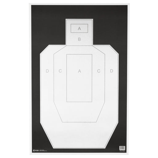 Action Tgt Ipsc Pbkb Paper 100Pk-Tactical Supply-Action Target-EpicWorldStore.com