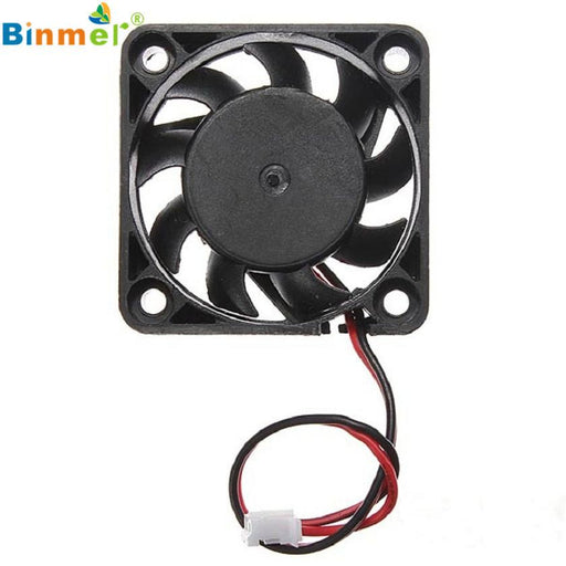 Adroit 12V 2 Pin 40Mm Computer Cooler Small Cooling Fan Pc Black F Heat Sink Mar26-Computer Components-Trendy Attic-EpicWorldStore.com