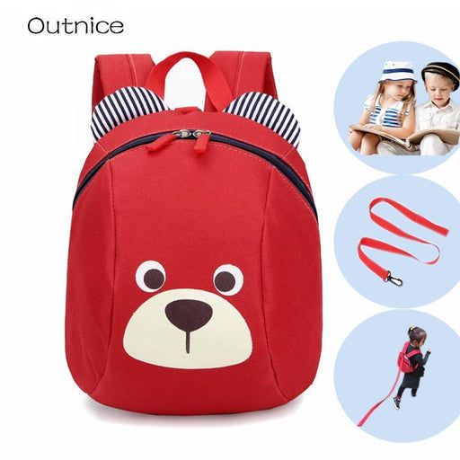 Aged 1-3 Toddler Backpack Anti-Lost Kids Baby Bag Cute Animal Dog Children Backpacks Kindergarten-Kids & Baby's Bags-Outnice Store-Deep Blue-EpicWorldStore.com