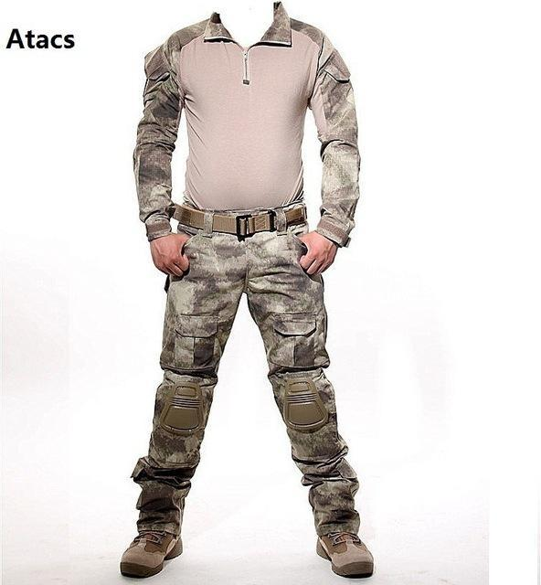 1d7f19e07041a Aichangei Tactical Camouflage Military Uniform Clothes Suit Men Us Army  Clothes Military Combat-Work Wear
