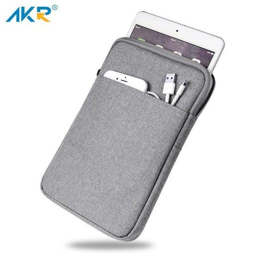 Akr Shockproof 9.7 Inch Tablet Sleeve Case For Ipad 4 2 3 Inch Ipad Pro 10.5 Inch Cover Zipper Pouch-Tablet Accessories-AKR Official Store-Deep Gray-EpicWorldStore.com