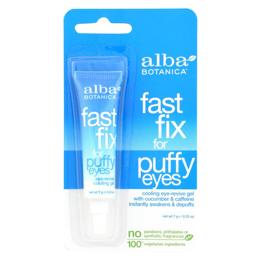 Alba Botanica - Fast Fix For Puffy Eyes - .25 Oz - Case Of 6-Eco-Friendly Home & Grocery-Alba Botanica-EpicWorldStore.com