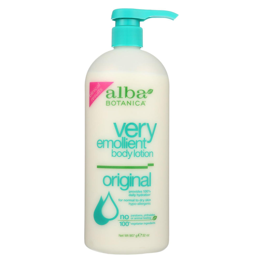 Alba Botanica - Very Emollient Body Lotion - Original - 32 Fl Oz-Eco-Friendly Home & Grocery-Alba Botanica-EpicWorldStore.com