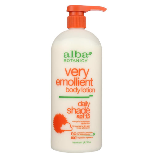Alba Botanica - Very Emollient Natural Body Lotion Spf 15 - 32 Fl Oz-Eco-Friendly Home & Grocery-Alba Botanica-EpicWorldStore.com