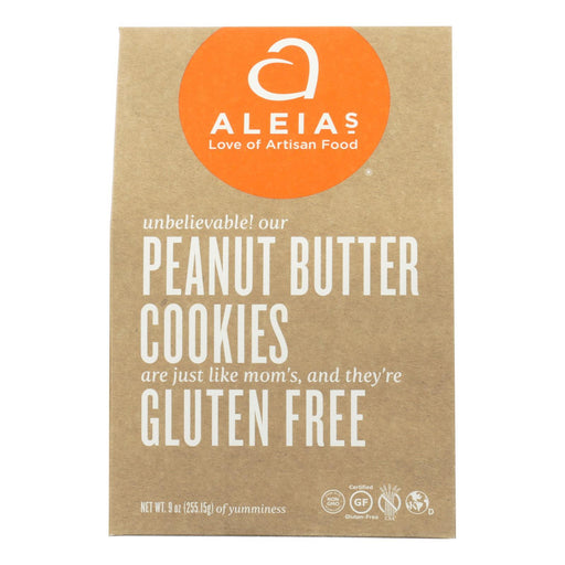 Aleia'S - Gluten Free Cookies - Peanut Butter - Case Of 6 - 9 Oz.-Eco-Friendly Home & Grocery-Aleia's-EpicWorldStore.com