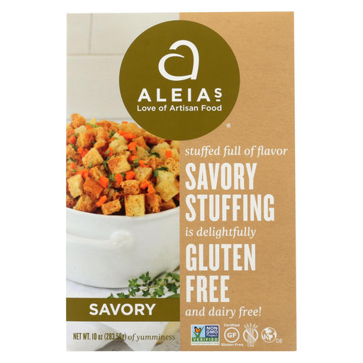 Aleia'S - Gluten Free Stuffing Mix - Savory - Case Of 6 - 10 Oz-Eco-Friendly Home & Grocery-Aleia's-EpicWorldStore.com
