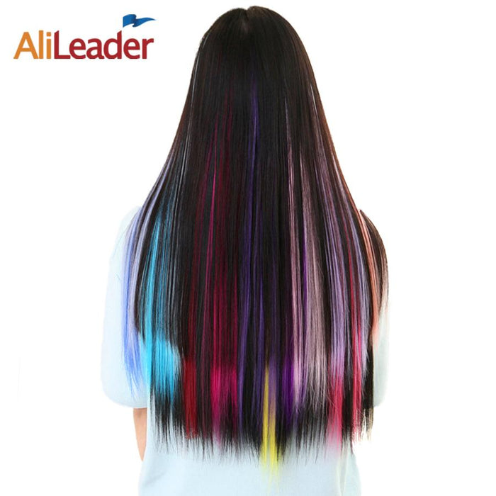 Alileader Product Highlight One Piece Hair Clip In Extensions Ombre