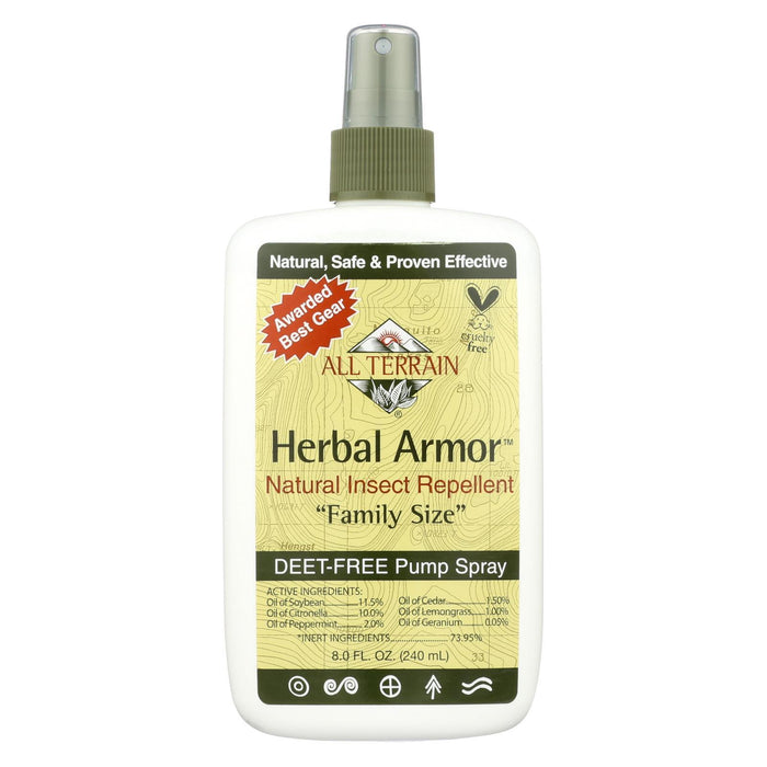 All Terrain - Herbal Armor Natural Insect Repellent Family Size - 8 Fl Oz-Eco-Friendly Home & Grocery-All Terrain-EpicWorldStore.com