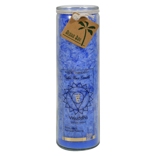 Aloha Bay - Chakra Jar Blue Candle - 17 Oz-Eco-Friendly Home & Grocery-Aloha Bay-EpicWorldStore.com