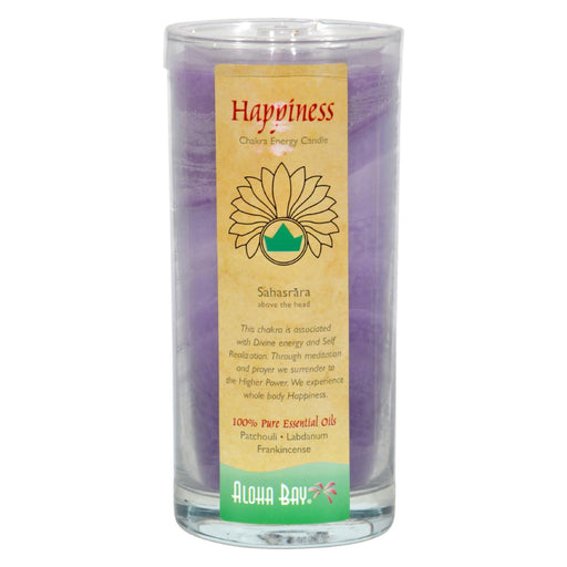 Aloha Bay - Chakra Jar Candle - Happiness - 11 Oz-Eco-Friendly Home & Grocery-Aloha Bay-EpicWorldStore.com