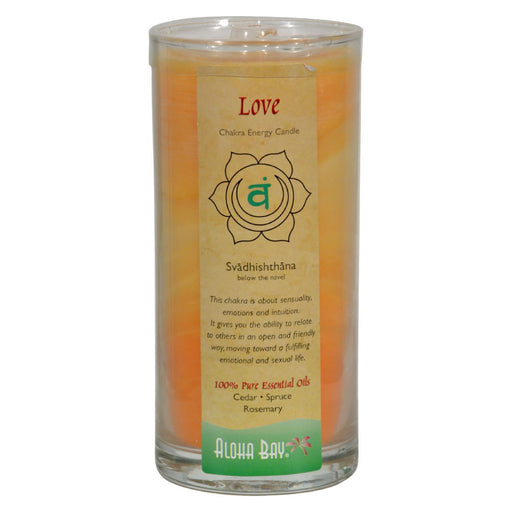 Aloha Bay - Chakra Jar Candle - Love - 11 Oz-Eco-Friendly Home & Grocery-Aloha Bay-EpicWorldStore.com