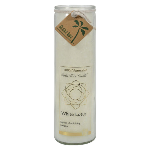 Aloha Bay - Chakra Jar Candle - White Lotus - 11 Oz-Eco-Friendly Home & Grocery-Aloha Bay-EpicWorldStore.com