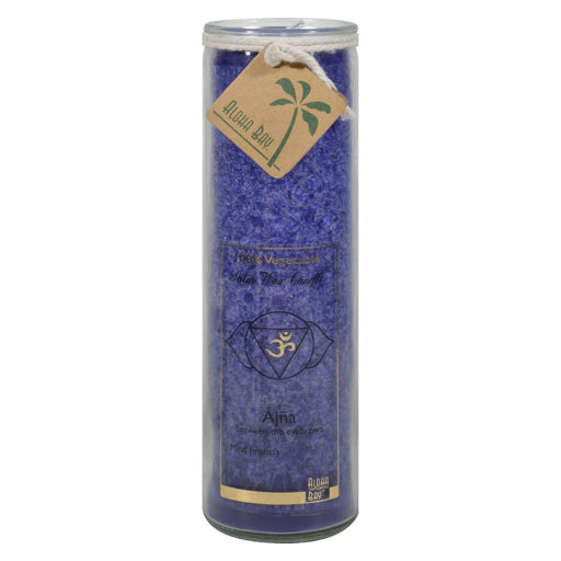 Aloha Bay - Unscented Chakra Jar Abundance Indigo - 1 Candle-Eco-Friendly Home & Grocery-Aloha Bay-EpicWorldStore.com