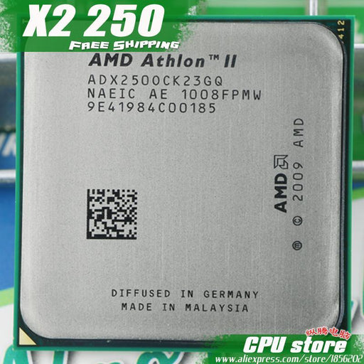 Amd Athlon Ii X2 250 Cpu Processor (3.0Ghz/ 2M /2000Ghz) Socket Am3 Am2+ 938 Pin, There Are, Sell X2-Computer Components-CPU Store-EpicWorldStore.com