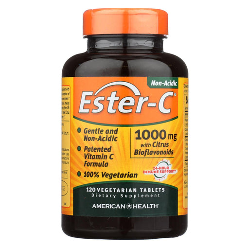 American Health - Ester-C With Citrus Bioflavonoids - 1000 Mg - 120 Vegetarian Tablets-Eco-Friendly Home & Grocery-American Health-EpicWorldStore.com