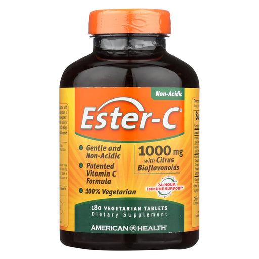 American Health - Ester-C With Citrus Bioflavonoids - 1000 Mg - 180 Vegetarian Tablets-Eco-Friendly Home & Grocery-American Health-EpicWorldStore.com