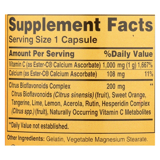 American Health - Ester-C With Citrus Bioflavonoids - 1000 Mg - 90 Capsules-Eco-Friendly Home & Grocery-American Health-EpicWorldStore.com