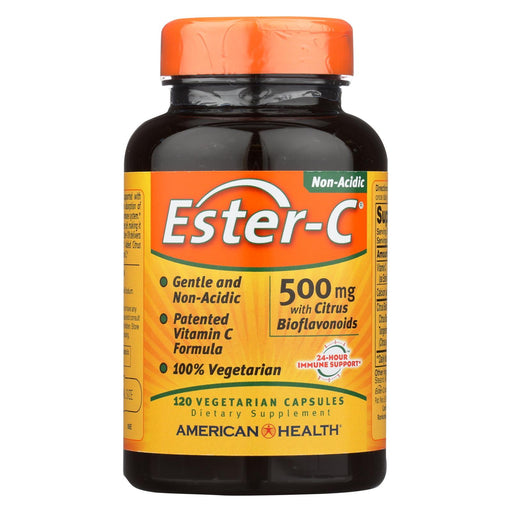 American Health - Ester-C With Citrus Bioflavonoids - 500 Mg - 120 Vegetarian Capsules-Eco-Friendly Home & Grocery-American Health-EpicWorldStore.com