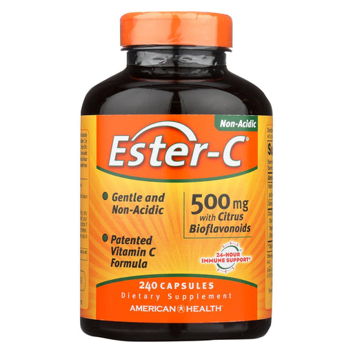 American Health - Ester-C With Citrus Bioflavonoids - 500 Mg - 240 Capsules-Eco-Friendly Home & Grocery-American Health-EpicWorldStore.com