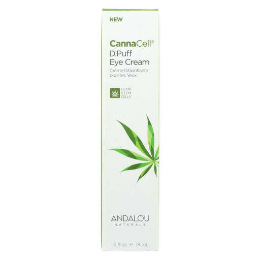 Andalou Naturals - Cannacell D.Puff Eye Cream - .6 Fl Oz.-Eco-Friendly Home & Grocery-Andalou Naturals-EpicWorldStore.com