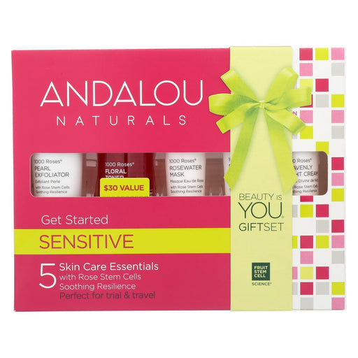Andalou Naturals Get Started Kit - 1000 Roses - 5 Pieces-Eco-Friendly Home & Grocery-Andalou Naturals-EpicWorldStore.com