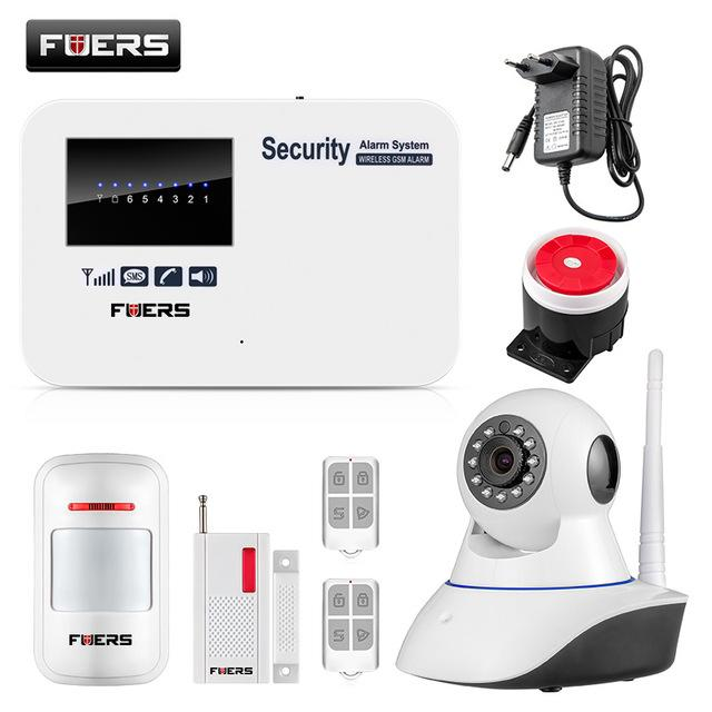 Android Ios App Remote Control Intelligent Smart Home Burglar Security Gsm  Alarm System With Wifi Ip