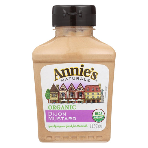 Annie'S Naturals Organic Dijon Mustard - Case Of 12 - 9 Oz.-Eco-Friendly Home & Grocery-Annie's Naturals-EpicWorldStore.com