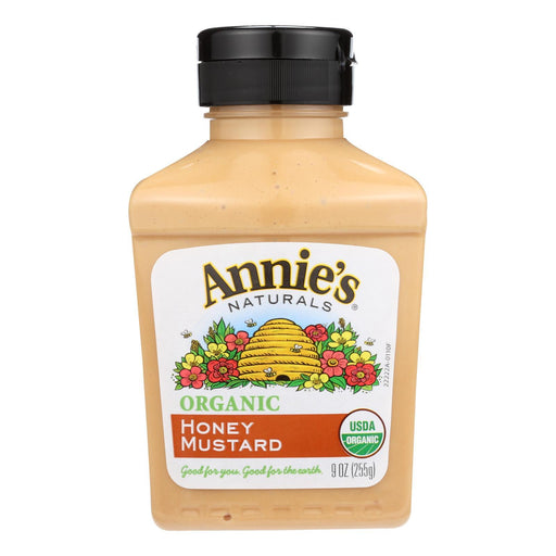 Annie'S Naturals Organic Honey Mustard - Case Of 12 - 9 Oz.-Eco-Friendly Home & Grocery-Annie's Naturals-EpicWorldStore.com