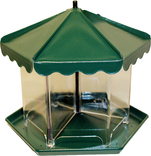 Apollo Investment Holding - Mini Triple Bin Party Seed Feeder (No Hardware)-Pet-Apollo Investment Holding-GREEN-5.5 LB-EpicWorldStore.com