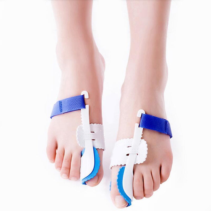 Aptoco 2Pcs Big Toe Separator Corrector Straightener Bunion Splint Toe Straightener Foot Pain Relief-Health Care-YSD FACTORY DIRECT STORE-EpicWorldStore.com