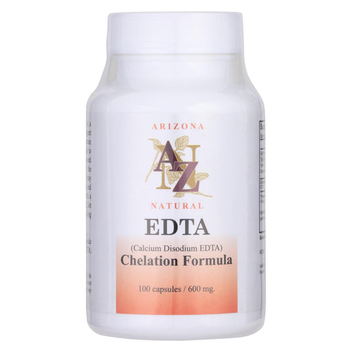 Arizona Natural Resource Calcium Disodium Edta - 500 Mg - 100 Capsules-Eco-Friendly Home & Grocery-Arizona Natural Resource-EpicWorldStore.com