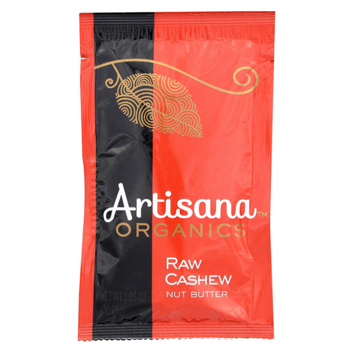 Artisana Organic Raw Cashew Butter - Squeeze Packs - 1.06 Oz - Case Of 10-Eco-Friendly Home & Grocery-Artisana-EpicWorldStore.com
