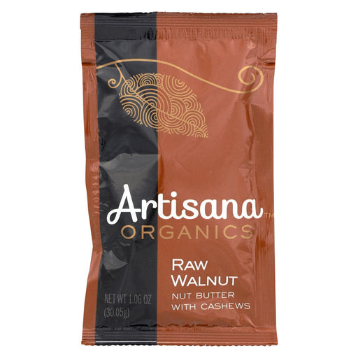 Artisana Organic Raw Walnut Butter - Squeeze Packs - 1.06 Oz - Case Of 10-Eco-Friendly Home & Grocery-Artisana-EpicWorldStore.com