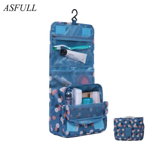 Asfull Useful New Toiletry Bags Wash Bag Cosmetics Bags,Travel Business Trip Accessories-Home Storage & Organization-ASFULL- commodity Store-Red-EpicWorldStore.com