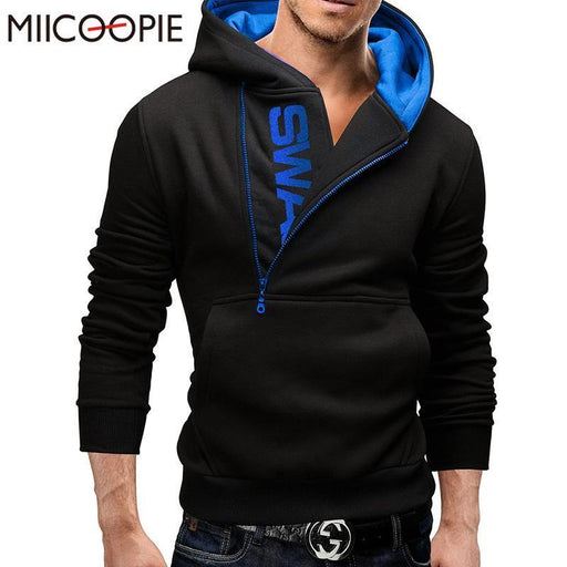 Assassins Creed Hoodies Men Letter Printed Mens Hoodie Sweatshirt Long Sleeve Slim Hooded Jacket-Hoodies & Sweatshirts-QIANDUBAO- Store-black red-M-EpicWorldStore.com