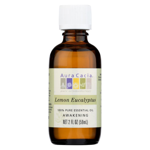 Aura Cacia - Essential Oil Lemon Eucalyptus - 2 Fl Oz-Eco-Friendly Home & Grocery-Aura Cacia-EpicWorldStore.com