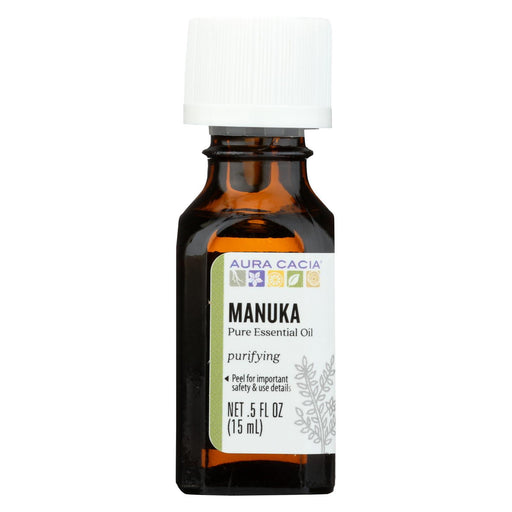 Aura Cacia - Essential Oil - Manuka - Case Of 1 - .50 Fl Oz.-Eco-Friendly Home & Grocery-Aura Cacia-EpicWorldStore.com