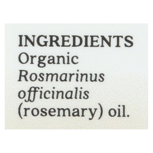 Aura Cacia - Essential Oil - Rosemary, Verbenone - Case Of 1 - .25 Fl Oz.-Eco-Friendly Home & Grocery-Aura Cacia-EpicWorldStore.com