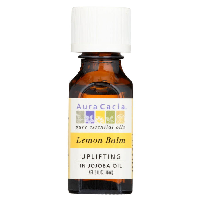 Aura Cacia - Precious Essentials - Lemon Balm - .5 Oz-Eco-Friendly Home & Grocery-Aura Cacia-EpicWorldStore.com