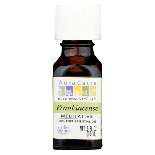 Aura Cacia - Pure Essential Oil Frankincense - 0.5 Fl Oz-Eco-Friendly Home & Grocery-Aura Cacia-EpicWorldStore.com