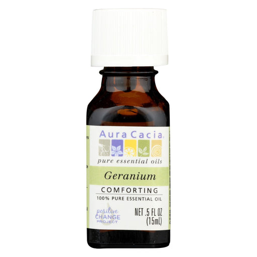 Aura Cacia - Pure Essential Oil Geranium - 0.5 Fl Oz-Eco-Friendly Home & Grocery-Aura Cacia-EpicWorldStore.com