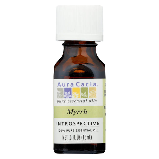 Aura Cacia - Pure Essential Oil Myrrh - 0.5 Fl Oz-Eco-Friendly Home & Grocery-Aura Cacia-EpicWorldStore.com