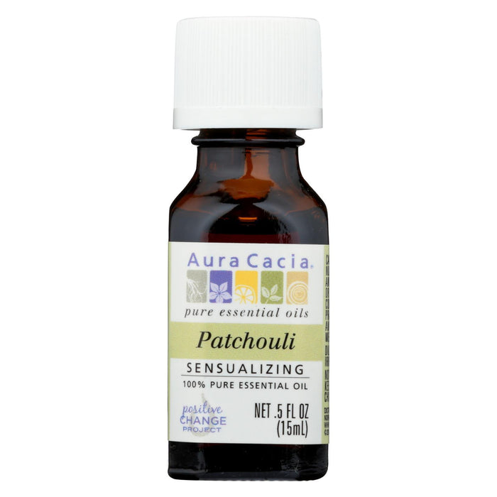 Aura Cacia - Pure Essential Oil Patchouli - 0.5 Fl Oz-Eco-Friendly Home & Grocery-Aura Cacia-EpicWorldStore.com