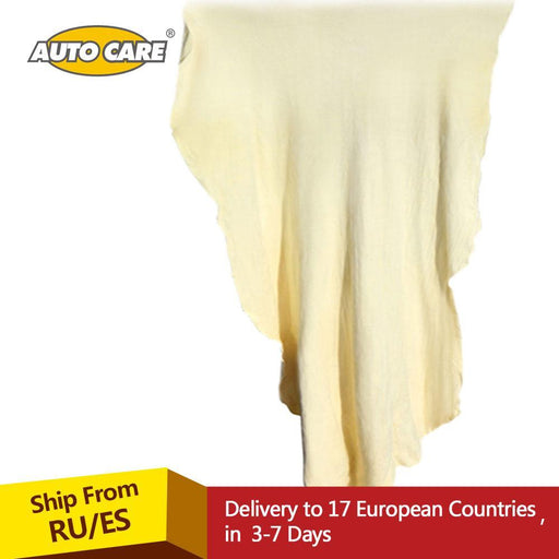 Auto Care Natural Chamois Leather Car Cleaning Cloth Genuine Leather Wash Suede Absorbent Quick-Car Wash & Maintenance-AUTO CARE Global Store-30x50 cm approx-EpicWorldStore.com