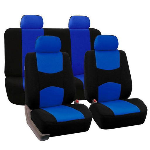 Autoyouth Car Seat Covers Full Set Automobile Seat Protection Cover Vehicle Seat Covers Universal-Interior Accessories-AUTOYOUTH Global Store-BEIGE-EpicWorldStore.com