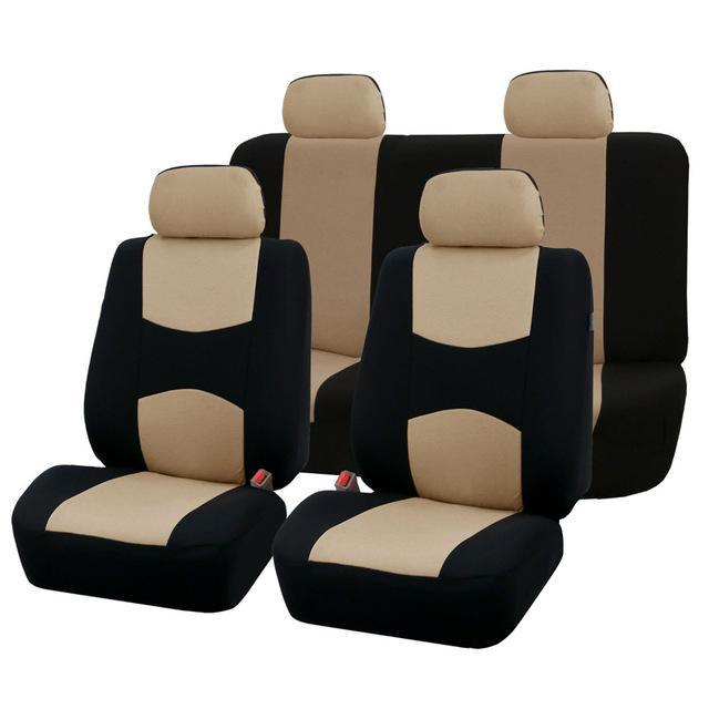 Autoyouth Car Seat Covers Full Set Universal Fit Accessories Auto Protectors Styling