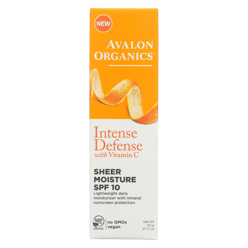 Avalon Intense Defense Sheer Moisture - Spf 10 - 1.75 Oz.-Eco-Friendly Home & Grocery-Avalon-EpicWorldStore.com