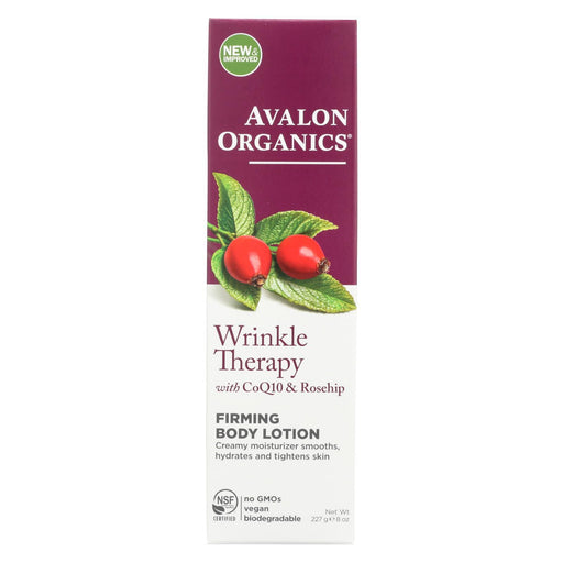 Avalon Organics Ultimate Firming Body Lotion Coenzyme Q10 - 8 Fl Oz-Eco-Friendly Home & Grocery-Avalon-EpicWorldStore.com