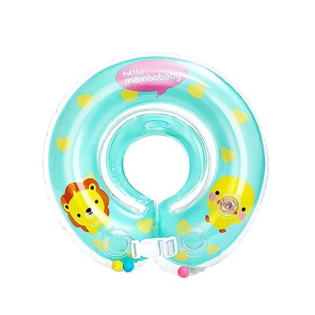 Baby Bath Swimming Neck Ring Dual-Layer Airbags Pvc Baby Swim Pool ...